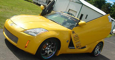 Nissan : 350Z Enthusiast Convertible 2-Door 2005 nissan 350 z grand touring convertible 2 door 3.5 l yellow lambo doors 20