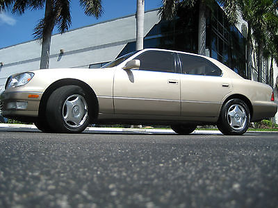 Lexus : LS LS Lexus LS 400 Sedan Luxury Touring Sunroof Sport Lexus 400 LS Sunroof Leather
