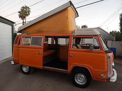 Volkswagen : Bus/Vanagon camper bus Volkswagen camper bus