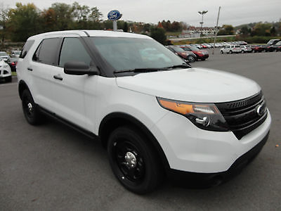 Ford : Explorer Police Interceptor AWD New 2014 Explorer Police Interceptor AWD White CoStars LED Spot Lamp 4x4 4WD