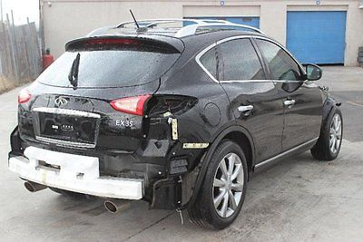 Infiniti : EX 35 Journey AWD 2009 infiniti ex 35 journey awd damaged fixable repairable salvage crashed save