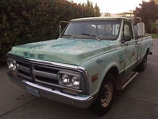 GMC : Sierra 2500 camper special 1972 gmc runs great drives great stops great daily driver with current tags