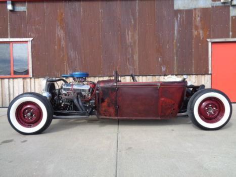 Ford : Model A Model A 1930 model a model t t bucket patina chevy big block rat rod