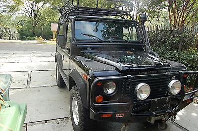 Land Rover : Defender DEFENDER 90 LAND ROVER DEFENDER 90 1995 SOFT TOP BELUGA BLACK