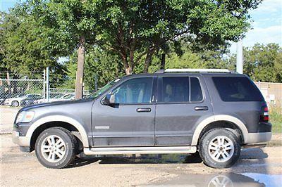 Ford : Explorer Eddie Bauer Ford Explorer Eddie Bauer 4 dr SUV Automatic Gasoline 4.0L V6 Cyl Dark Stone Met