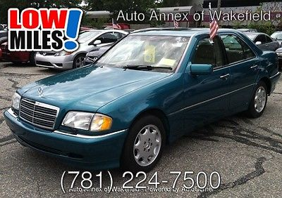 Mercedes-Benz : C-Class c280 1999 mercedes c 280 61 k leather roof extra clean