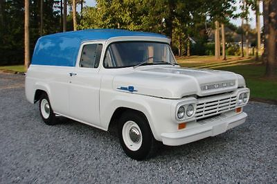 Ford : F-100 PANEL TRUCK 1959 ford f 100 panel truck