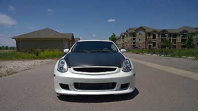 Infiniti : G G35 coupe Pristine and fast G35 Coupe TURBO 6sp manual BUILT MOTOR low miles CLEAN TITLE