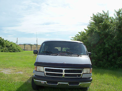 Dodge : Ram Van SOLID GRAY NO ADD'L TRIM 1997 dodge ram conversion van florida driven only
