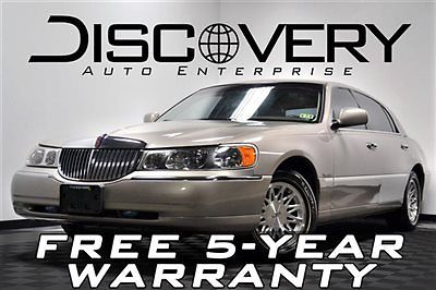 Lincoln : Town Car Signature *MUST SEE!* Signature FREE SHIPPING / 5-YR WARRANTY! Leather All Original