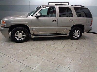 GMC : Yukon AWD 01 yukon denali 4 wd leather sunroof 3 rd row we finance texas