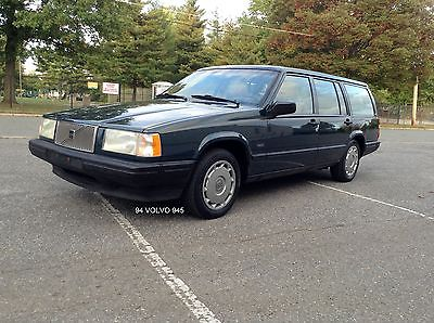Volvo : 940 Base Wagon 4-Door 1994 volvo 940 wagon 3 rd seat clean smooth serviced