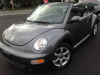 Volkswagen : Beetle-New GLS 2005 vw beetle convertible turbo charged 40 k miles gls leather free shipping