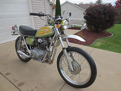 Honda : Other 1872 honda sl 350 motosport