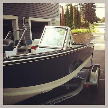 Starcraft SFM 160 (fish & ski) with a 60 hp Evinrude VRO