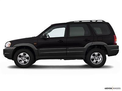 Mazda : Tribute 3.0L Automatic ES 4WD 3.0 l automatic es 4 wd 4 dr suv automatic gasoline 3.0 l v 6 cyl black