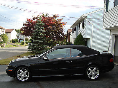 Mercedes-Benz : CLK-Class Base Convertible 2-Door 2001 mercedes benz clk 430 base convertible 2 door 4.3 l