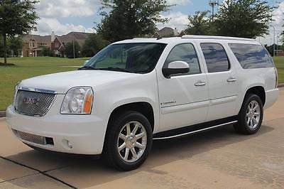 GMC : Yukon AWD 2008 gmc yukon denali xl awd navigation serviced my family vehicle