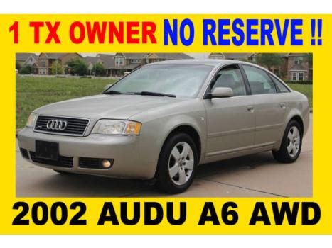 Audi : A6 QUATTRO AWD 2002 audi a 6 awd just one tx owner rust free watch hd video