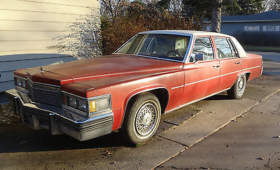 Cadillac : DeVille Base Sedan 4-Door 1979 cadillac deville sedan 4 door