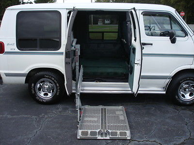Dodge : Ram 2500 van 2500 EXT VAN 1997 dodge ram wheelchair accessible van low miles