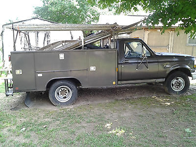 Ford : F-350 XL Cab & Chassis 2-Door 5 speed man overdrive 7.3 diesel new clutch new breaks new water pump
