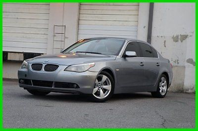 BMW : 5-Series I 2007 bmw 530 i used 3 l automatic rwd sedan premium