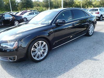 Audi : A8 W12 QUATTRO W12 OUATTRO,PANO ROOF,NAVIGATION,LOW MILE FLA CAR,CALL DON@863-688-8111