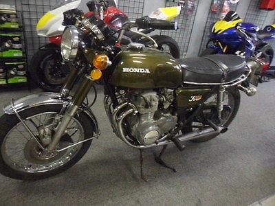 Honda : CB 1972 cb 350 f four cylinder low miles