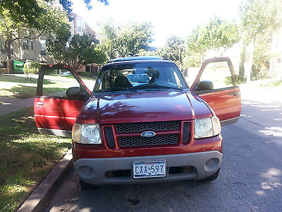 Ford : Explorer SPORT 2001 ford explorer great condition well maintained red exterior baige interi