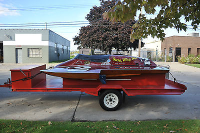 Historic Hydroplane Race Boat