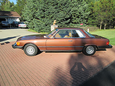 Mercedes-Benz : 400-Series leather 1976 mercedes 450 slc concourse condition all original only 23 k miles show new