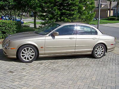 Jaguar : S-Type SPORT JAGUAR 2001 GOLD TYPE S SPORT 4.0 69,600 MI'S SOUTH FLORIDA CAR