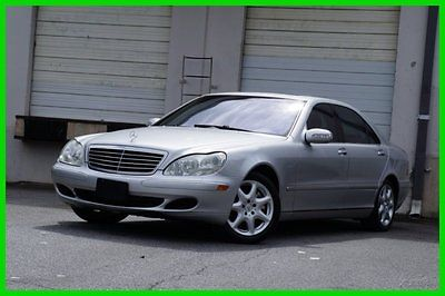 Mercedes-Benz : S-Class S430 EXTRA CLEAN 2004 s 430 used 4.3 l automatic 4 matic sedan premium bose