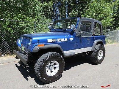 Jeep : Wrangler Jeep Jeep Wrangler Sport Utility 2-DR 4-Cyl. 2.5L 4X4 Manual Transmission W/ Soft Top
