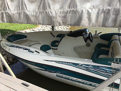 2000 18 ft Sea Doo Jet boat with low hours