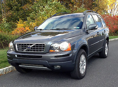 Volvo : XC90 SUV Metallic Gray / Gray Interior; AWD; 3rd Row Seats;