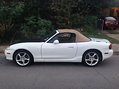 Mazda : MX-5 Miata SE Convertible 2-Door 2001 mazda miata se 6 speed low mileage