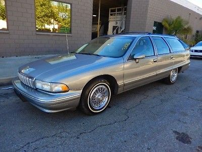 Chevrolet : Caprice Classic Wagon 4-Door 1994 chevrolet caprice wagon california car from