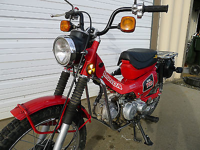 Honda : CT 1984 honda ct 110 ct 110 trail 70 90 enduro mini tl rl z xl sl cl vintage hunting