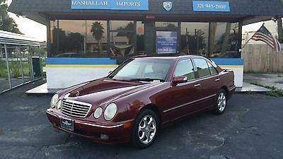 Mercedes-Benz : E-Class E VERY CLEAN IN AND OUT GARAGE KEPT PREMIUM WHEELS RARE COLOR COMBO