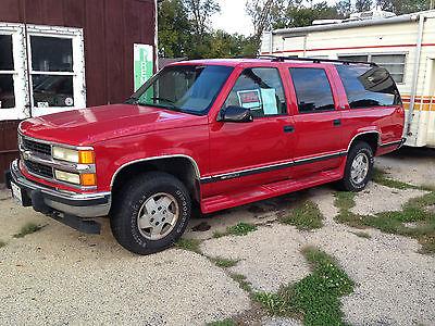 GMC : Suburban SUV 4 door 1994 chevrolet suburban 1500 4 wd