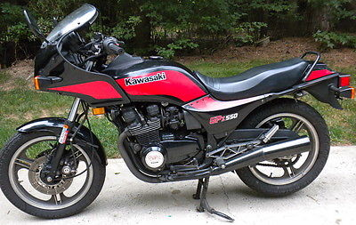 Image result for 1985 Kawasaki GPZ 550