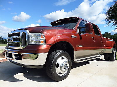 Ford : F-350 KING RANCH LARIAT 2006 ford f 350 drw super duty king ranch crew cab pickup 4 door 6.0 l diesel
