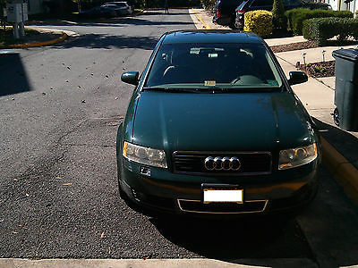 Audi : A4 Base Sedan 4-Door 2003 audi a 4 quattro turbo 1.8 t low mileage
