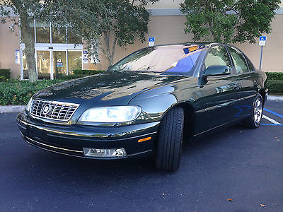Cadillac : Catera Base Sedan 4-Door 2001 cadillac catera 1 owner exceptionally clean only 29 k miles