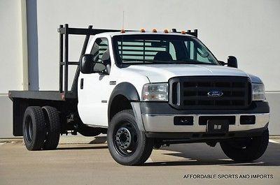 Ford : F-550 XLT 2007 f 550 flatbed reg cab 2 wd new tires cloth seats 699 ship