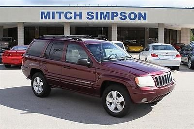 Jeep : Grand Cherokee GRAND CHEROKEE LIMITED 4x4 V8  PERFECT CARFAX 2001 jeep grand cherokee limited 4 x 4 v 8 perfect carfax