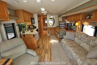 2003 WINNEBAGO ADVENTURER 38G AWESOME INTERIOR NEW TIRES, AWNINGS