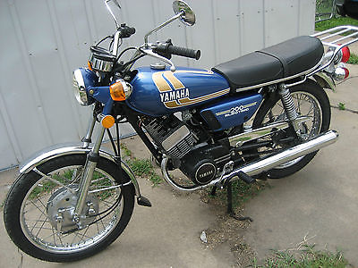 Yamaha : Other 1974 yamaha rd 200 electric with 1185 original miles new tires and battery nice